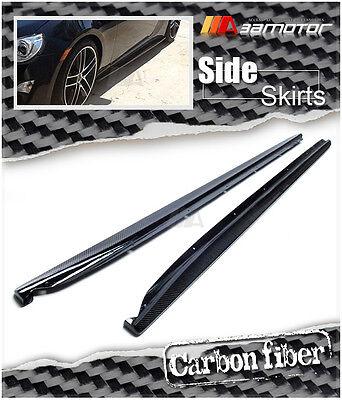 (Carbon Fiber Side Skirt Extensions for Subaru BRZ Toyota 86 Scion FR-S FT86 ZN6)