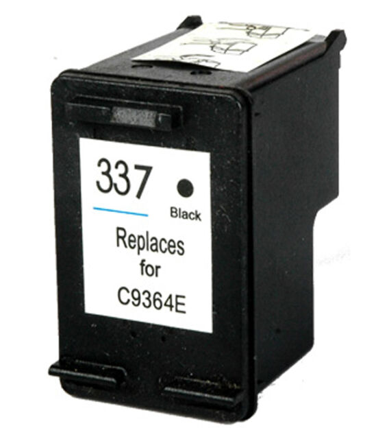 Non-OEM Replace For HP 337 Officejet Pro K7108 Black Ink Cartridge