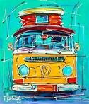 Mathias - Yellow VW camper