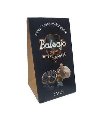 3 Packs of Balsajo  Black Garlic Single Bulb Pack Single