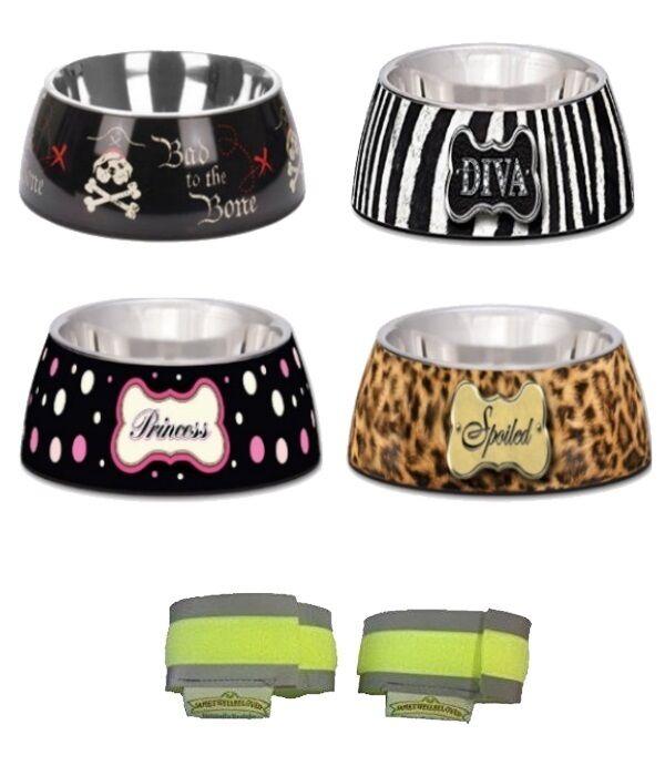 Loving Pets Milano Hundefutter Napf - 4 Designs - 3 Größen - Welpe Fütterung