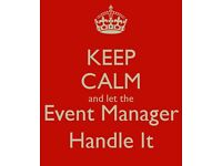 Events Manager. Brighton