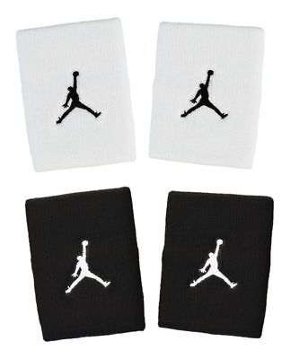 Nike Sport Fitness Basketball Tennis JUMPMAN WRISTBANDS Schweissbänder 9010 Neu