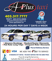 A+ Taxi Seeking Full-time and Part-time Drivers