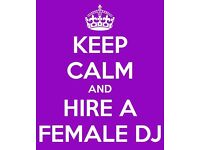 LOOKING FOR A PROFESSIONAL FEMALE DJ FOR YOUR CHRISTMAS PARTY OR ANY OTHER EVENT?