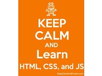 Web programming for beginners - HTML5, CSS and JavaScript