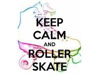 Roller skating/roller derby