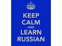 Private Russian lessons for everyone!