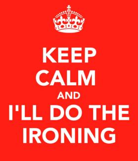 Hate ironing or simply don't have the time???