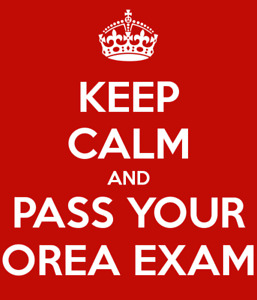 Orea Exam Answers-100% Pass Rate-$15 per course or $50 for all 5