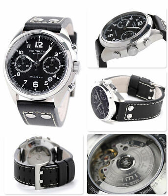 Hamilton Khaki Aviation Pilot Pioneer H76416735 Swiss Chronograph Watch