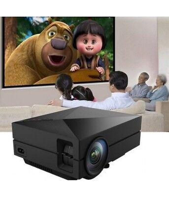 GM60 Portable 1000LM 800 x 480 Multimedia Mini Projector with USB VGA AV