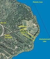 Large Waterfront Lot on Washademoak Lake