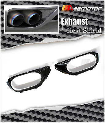 Carbon Fiber Bumper Exhaust Shroud Heat Shields for Nissan Skyline R35 GT-R GTR