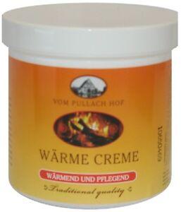 Wärme Creme 250ml Pullach Hof für Muskeln und Gelenke