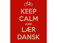 Online English and Danish lessons