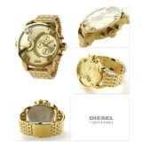 Diesel Little Daddy DZ7287 Gold-tone Stainless Steel Watch