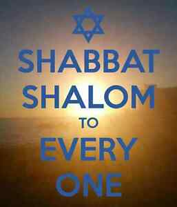 Shabbat Shalom to Everyone - Messianic Worship Windsor Region Ontario image 1
