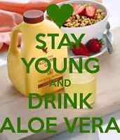 Look Better Live Healthy with Aloe Vera Products