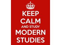 Modern Studies Tutor (fully qualified subject-specialist teacher)