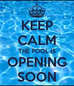 Book your pool opening!!! 226-347-1567