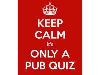 Pub quiz for people in their 20s and 30s