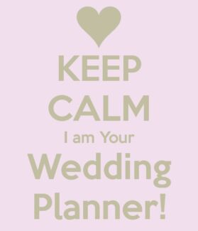 Wedding planner available