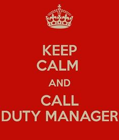 Hotel Duty Manager - Full time - Central Location