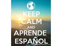 Spanish lessons. Qualified teacher