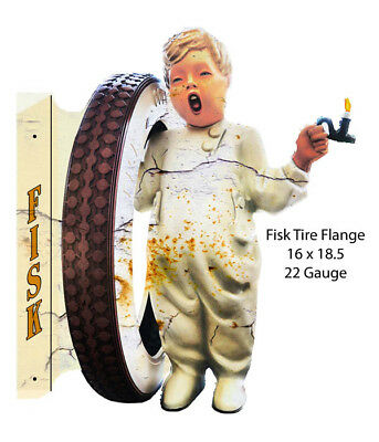 Fisk Tire Laser Cut Out Flange 16x18.5