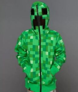 Minecraft Creeper Hoodie- Men's size small Gently Used $20