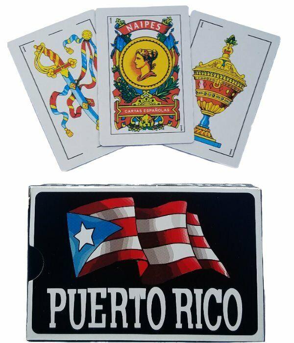 12 PACKS Of PUERTO RICO SPANISH PLAYING CARDS 50 BARAJA ESPANOLA BRISCAS NAIPES