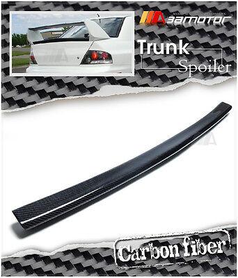 Carbon Fiber Rear Trunk Center Spoiler Lip Wing for MITSUBISHI Evolution EVO 8 9 - Evo Rear Lip