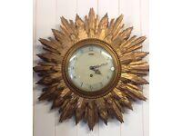 Beautiful Smith starburst clock