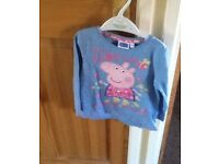 Peppa Pig top, 2-3 years