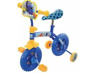 Finding Dory Kid's 2 in 1 Training Bike Multi Coloured 10 Inch Lightweight Age 2+