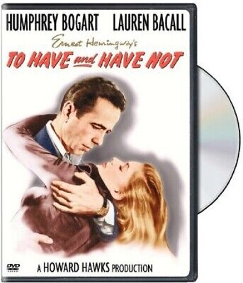 TO HAVE AND HAVE NOT (BOGART, BACALL) - KEEP CASE  ✨✨✨NEW