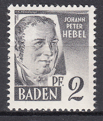 Französische Zone Baden Mi. Nr. 1 Postfrisch Luxus!!!