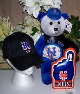 New Era New York Mets 59Fifty Cap Bear and Finger