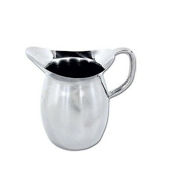 3 Quart Bell (Winco WPB-3, 3-Quart Deluxe Bell Pitcher, Stainless Steel )