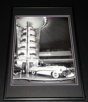 1950 Buick Roadmaster Framed 10x14 Poster GM Official
