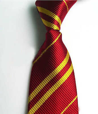 Luxury Necktie Harry Potter Gryffindor/Ravenclaw/Hufflepuff Accessory