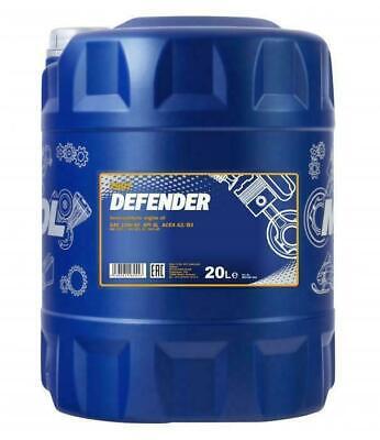 MANNOL 20L Defender Semi-Synthetic Engine Oil A3/B4 10W-40 VW 501/505 MB 229.1