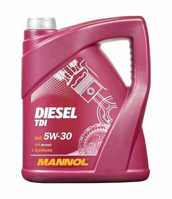 5L Mannol Diesel TDI Fully synthetic Engine Oil 5w30 SN/SM/CF C2/C3