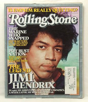 Jimi Hendrix Rolling Stone - ROLLING STONE MAGAZINE #980 Jimi Hendrix Aug 11 2005 IH