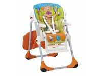 Chicco Polly Highchair 2 in 1 Wood Friends