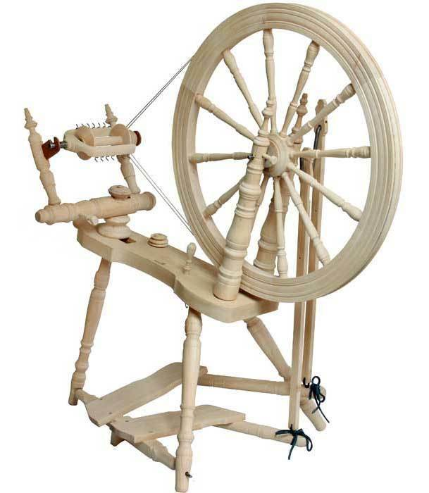 Kromski Symphony Unfinished Spinning Wheel W/Jumbo Flyer KIt BONUS