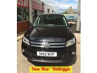 VOLKSWAGEN TIGUAN SPORT TDI BLUEMOTION TECHNOLOGY 4MOTION DSG (black) 2012