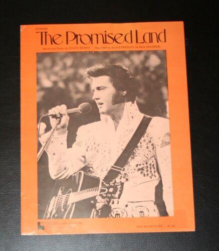 "Elvis Presley Original USA ""The Promised Land"" Sheet Music"