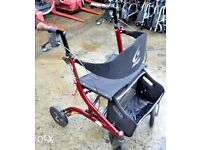 Wanted, Mobility 4-wheeled walking aid (Rollator) good condition with strap rather then metal bar.
